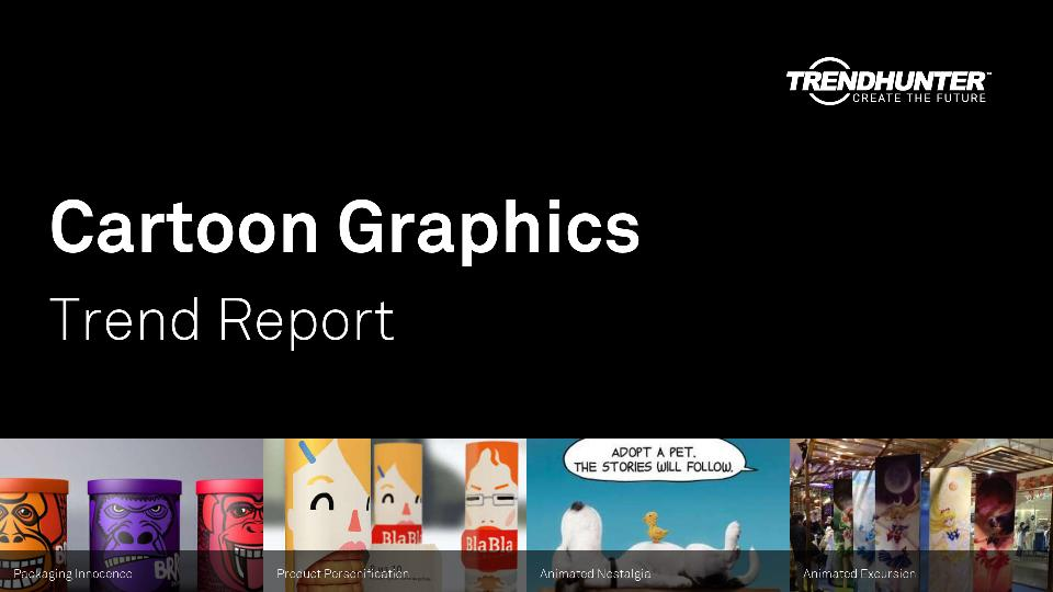 Cartoon Graphics Trend Report Research