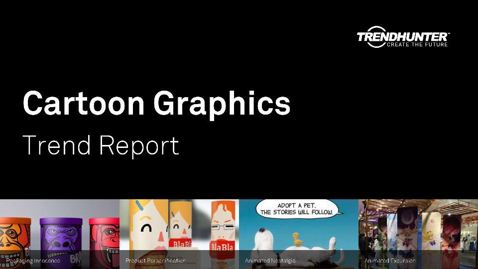 Cartoon Graphics Trend Report Research
