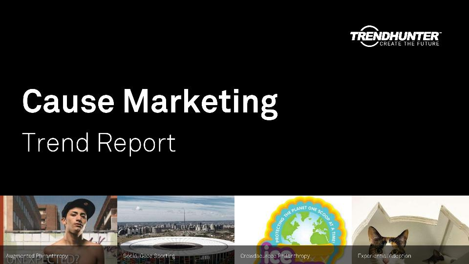 Cause Marketing Trend Report Research