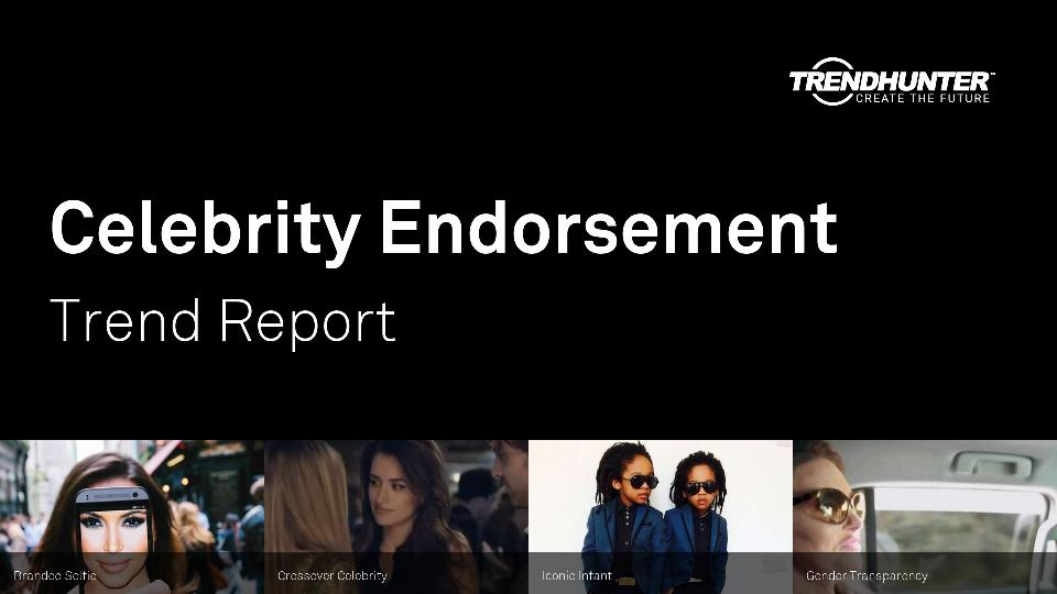 Celebrity Endorsement Trend Report Research