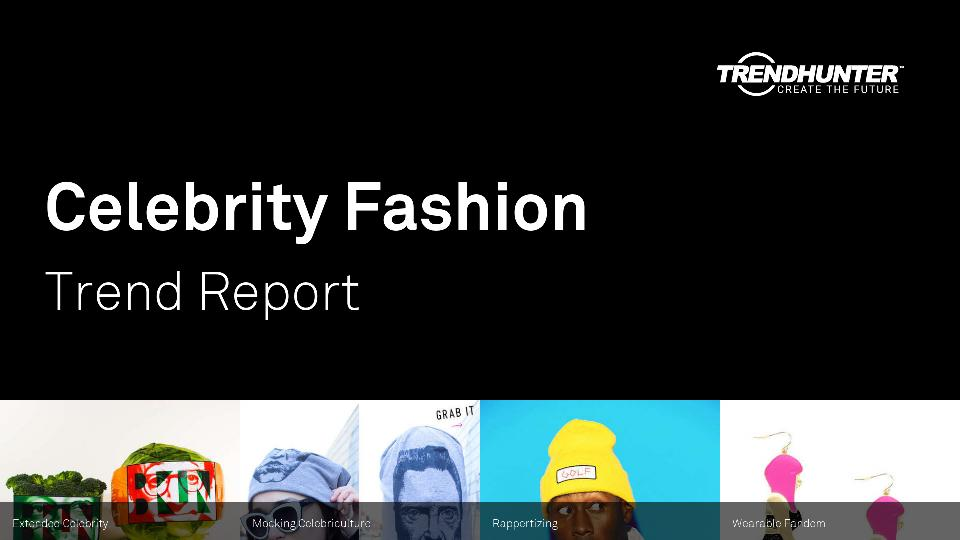 Celebrity Fashion Trend Report Research