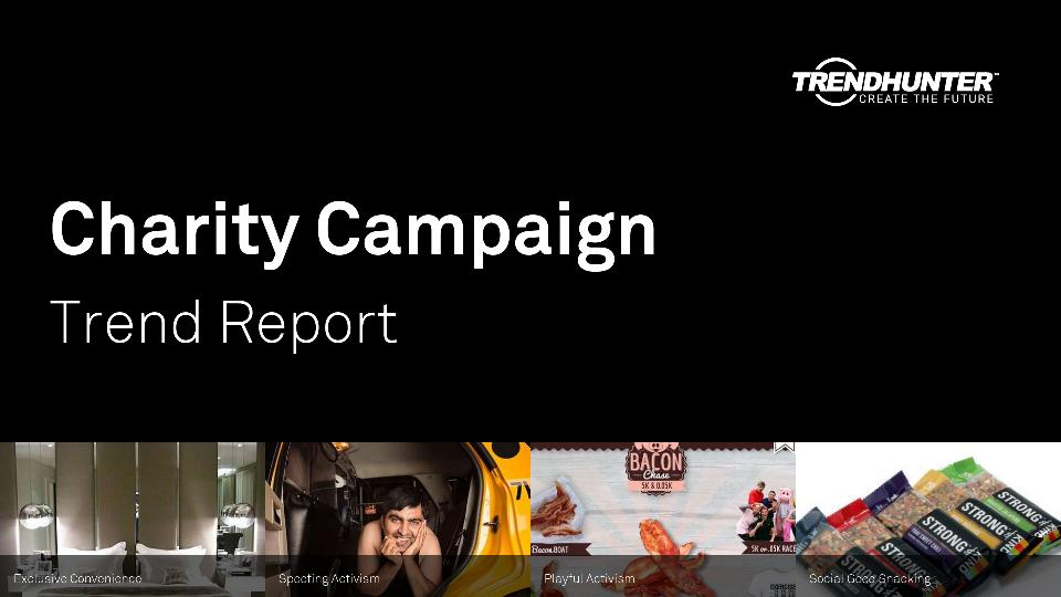 Charity Campaign Trend Report Research