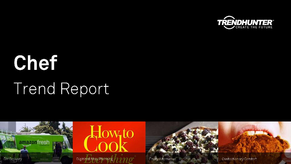 Chef Trend Report Research