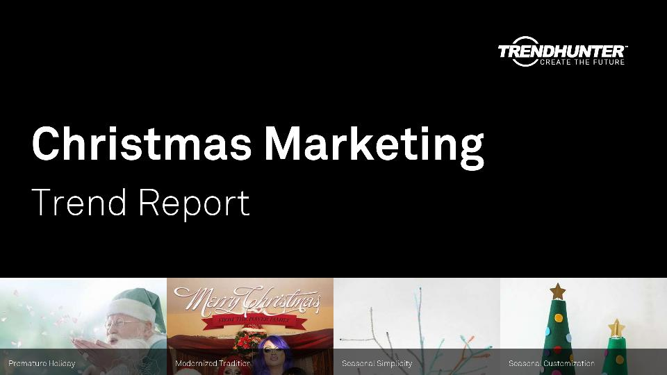 Christmas Marketing Trend Report Research