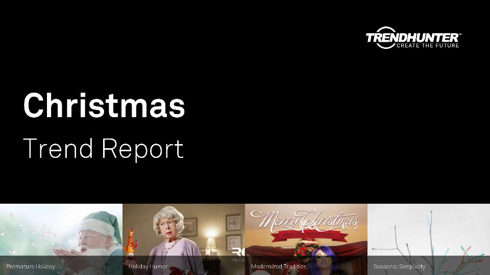 Christmas Trend Report Research