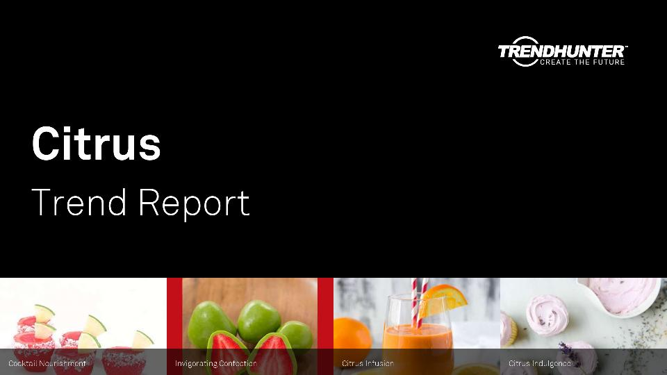 Citrus Trend Report Research