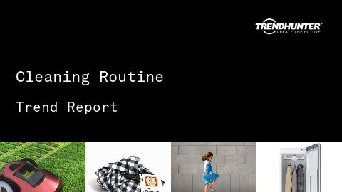 Cleaning Routine Trend Report and Cleaning Routine Market Research