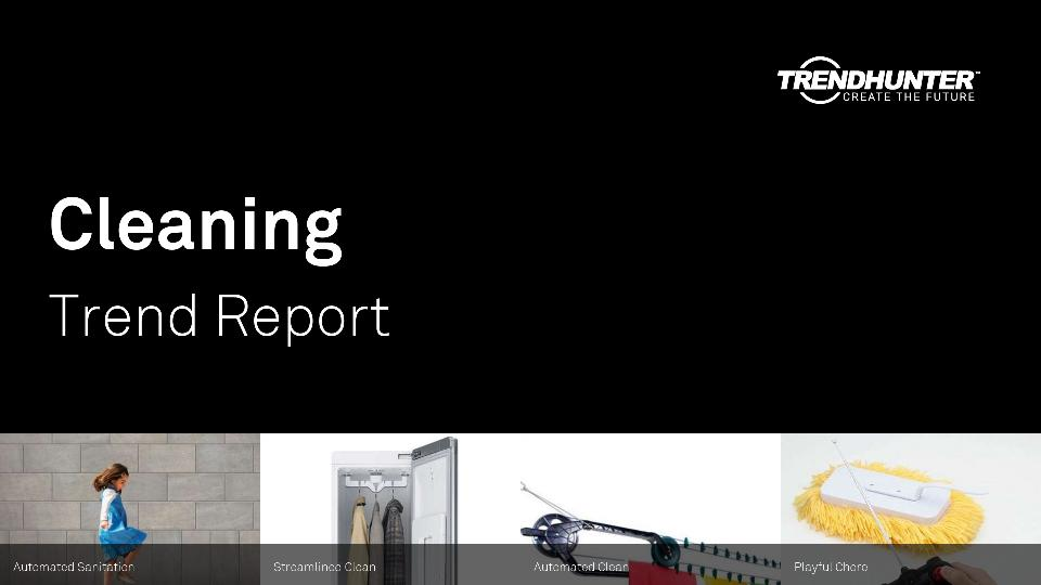 Cleaning Trend Report Research