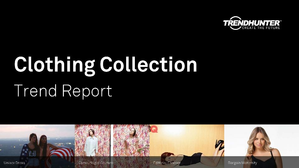 Clothing Collection Trend Report Research