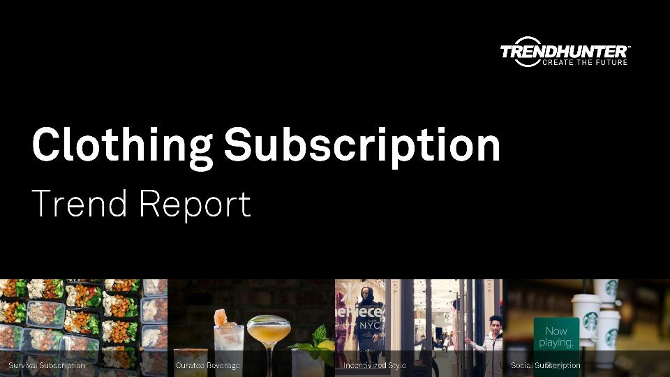 Clothing Subscription Trend Report Research