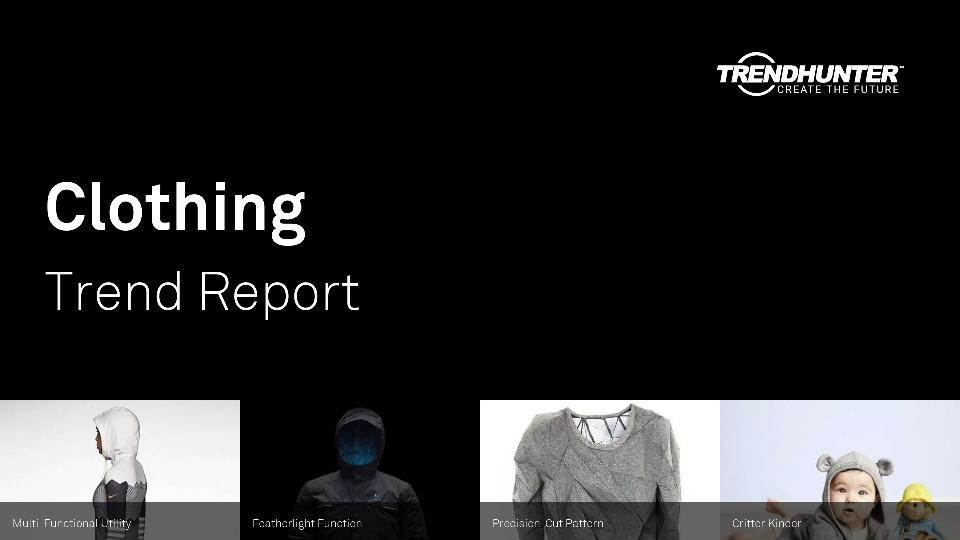 Clothing Trend Report Research