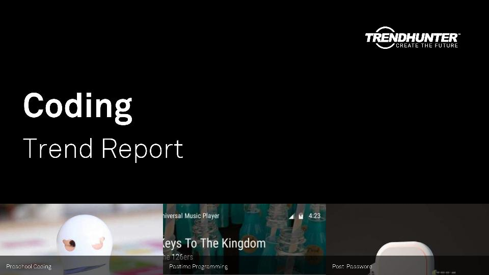 Coding Trend Report Research