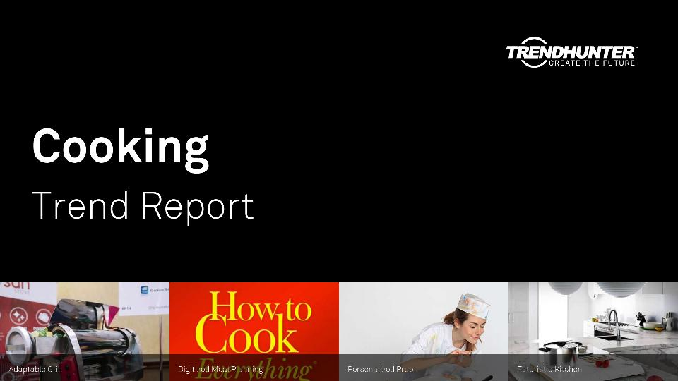 Cooking Trend Report Research
