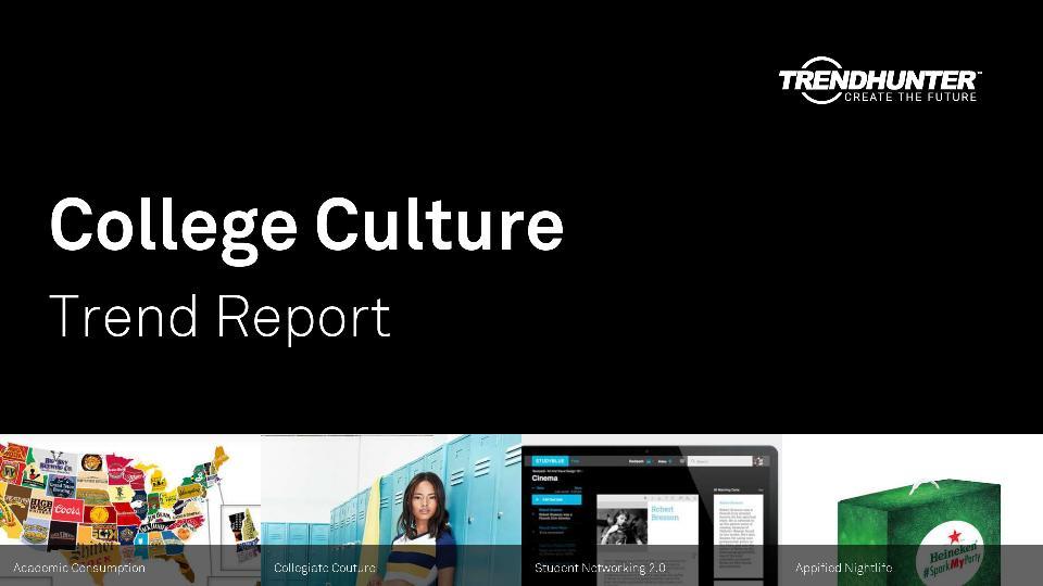 College Culture Trend Report Research
