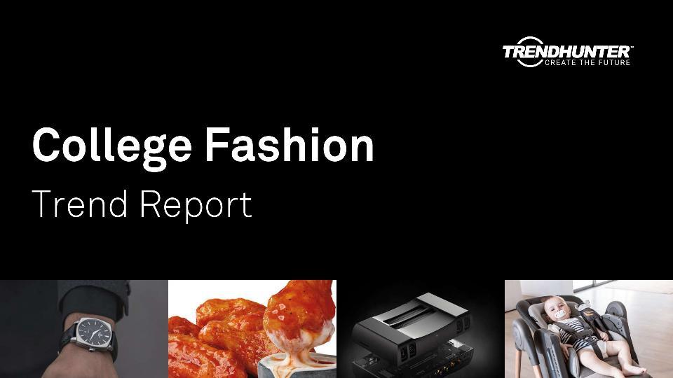 College Fashion Trend Report Research