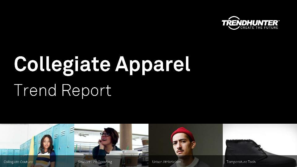 Collegiate Apparel Trend Report Research