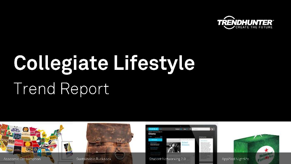 Collegiate Lifestyle Trend Report Research