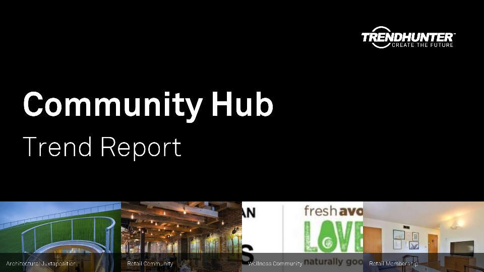 Community Hub Trend Report Research