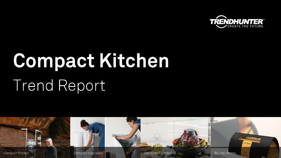 Compact Kitchen Trend Report Research