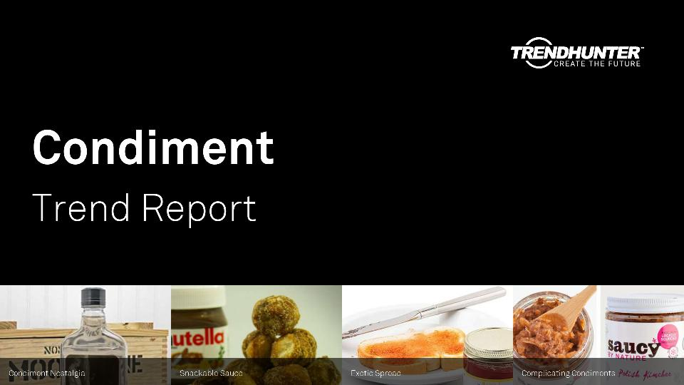 Condiment Trend Report Research