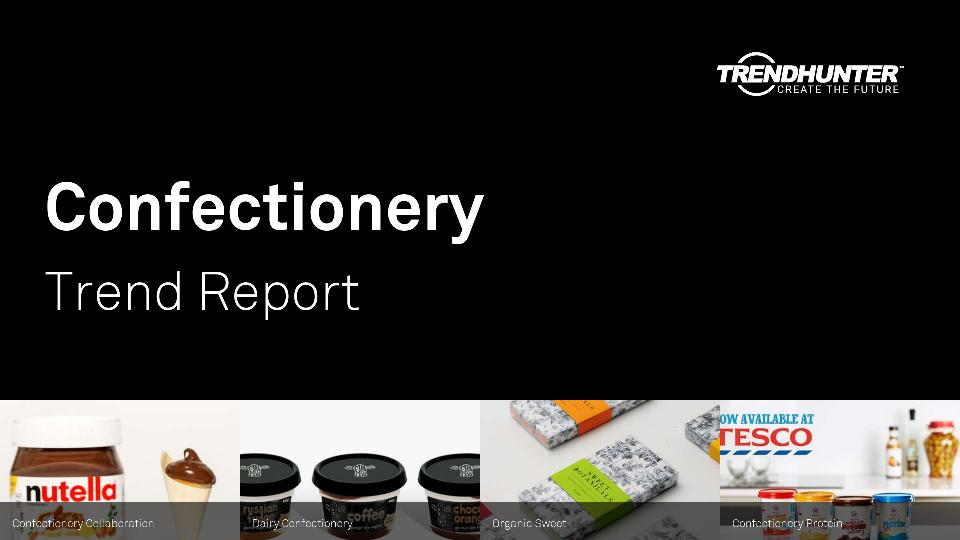 Confectionery Trend Report Research