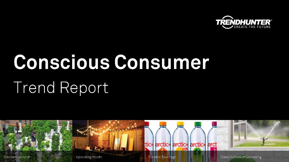Conscious Consumer Trend Report Research