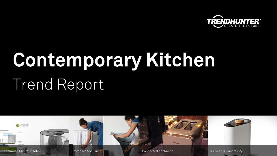 Contemporary Kitchen Trend Report Research