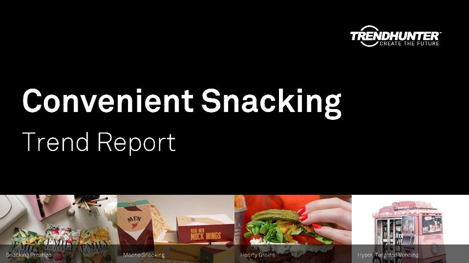 Convenient Snacking Trend Report Research