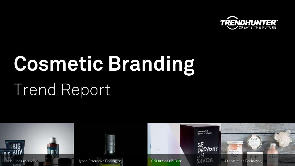 Cosmetic Branding Trend Report Research