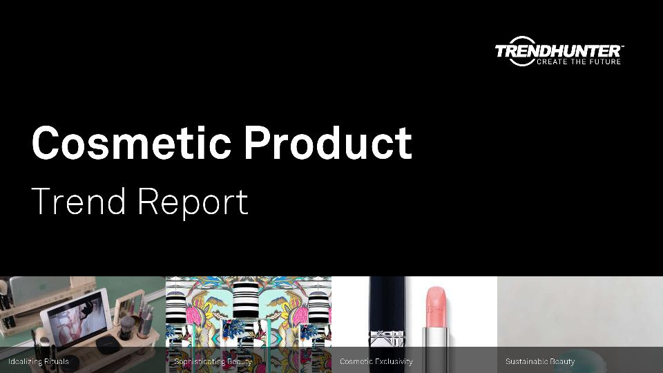 Cosmetic Product Trend Report Research