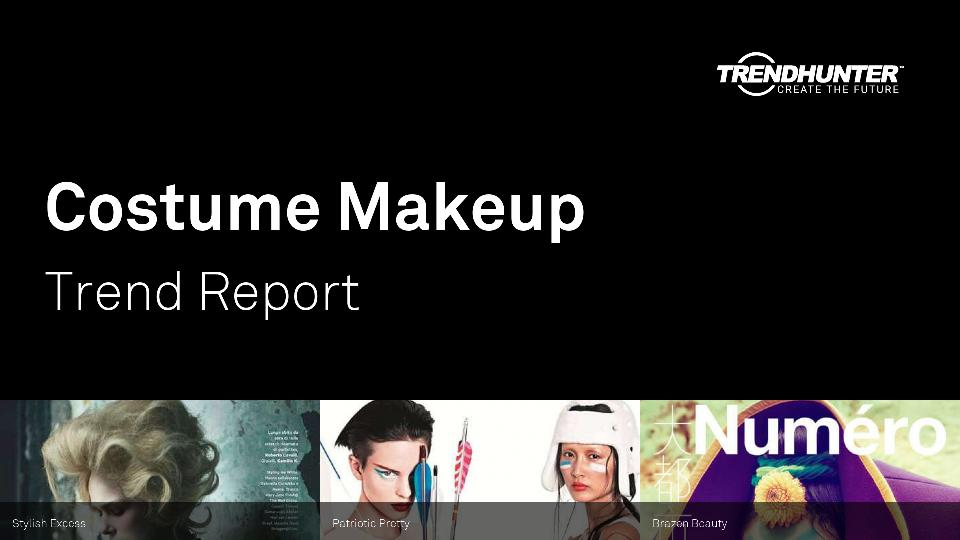 Costume Makeup Trend Report Research
