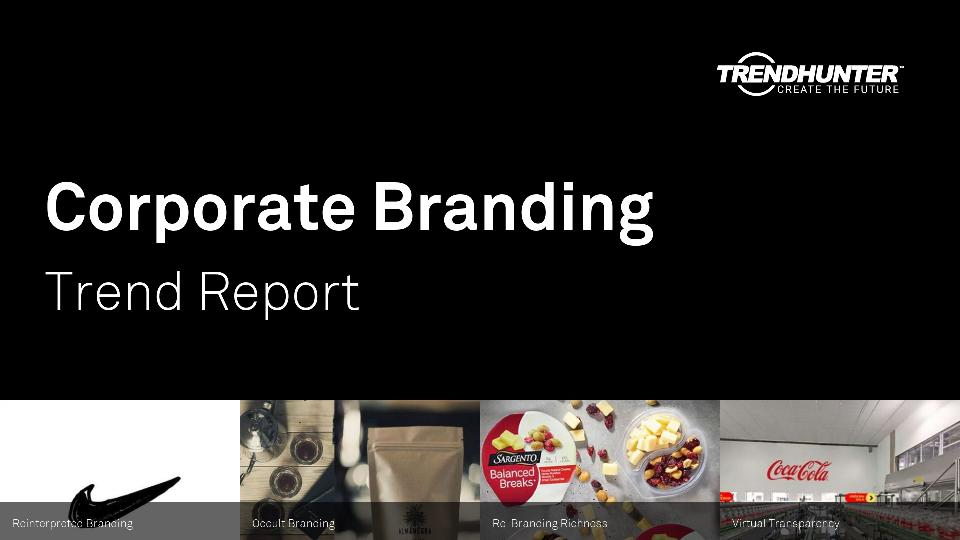 Corporate Branding Trend Report Research