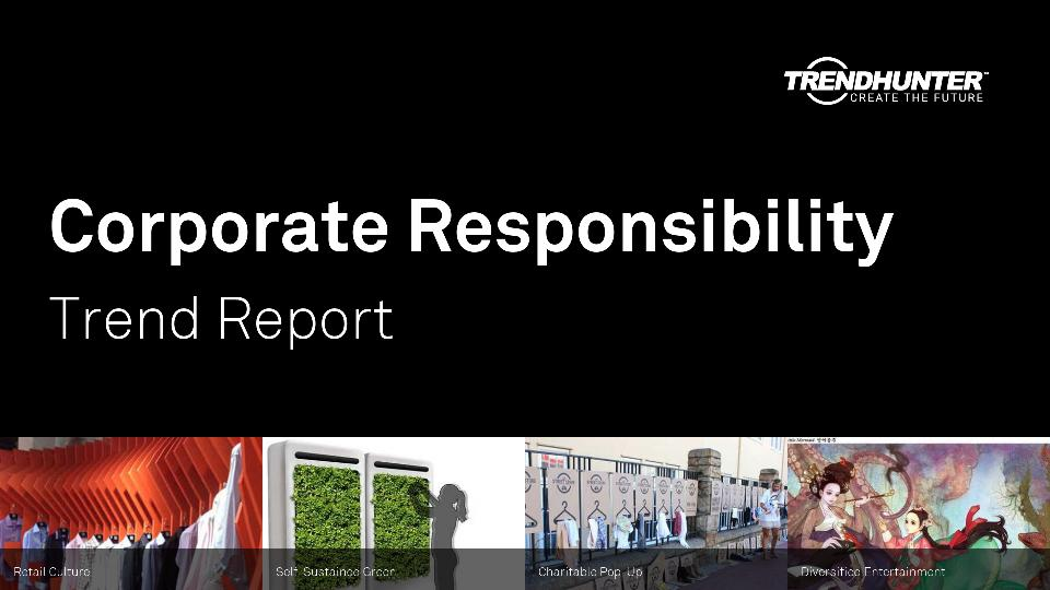 Corporate Responsibility Trend Report Research