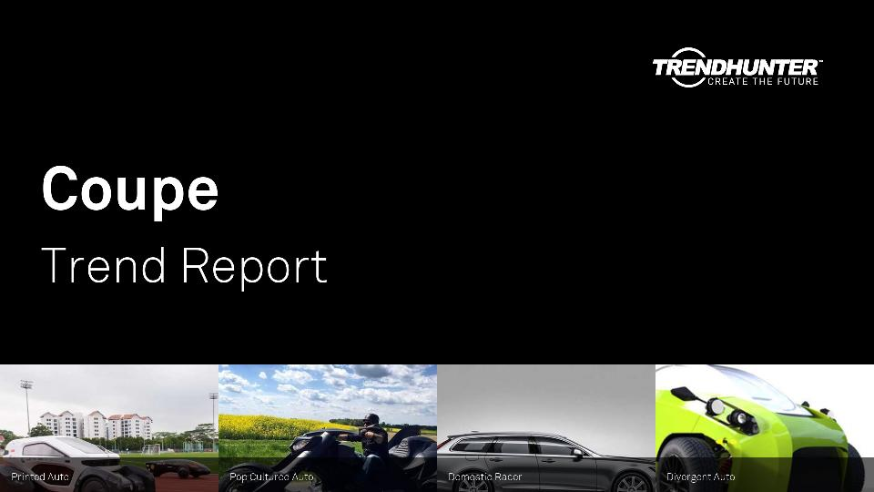 Coupe Trend Report Research