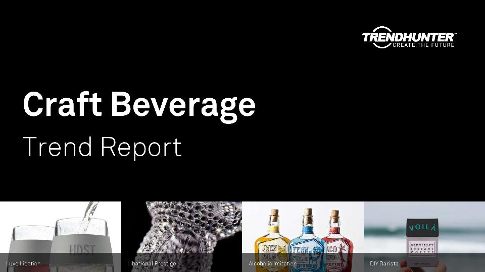 Craft Beverage Trend Report Research