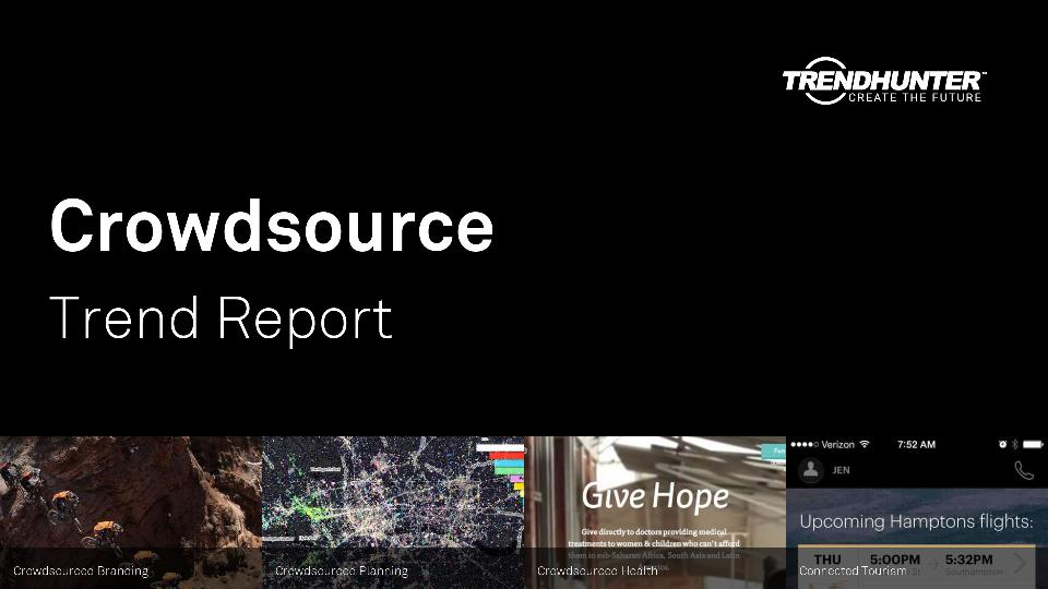 Crowdsource Trend Report Research