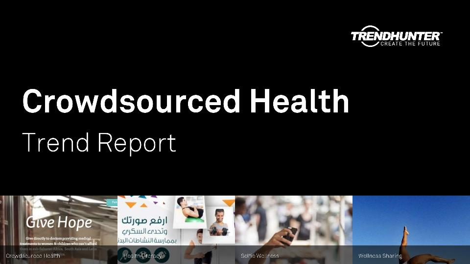 Crowdsourced Health Trend Report Research