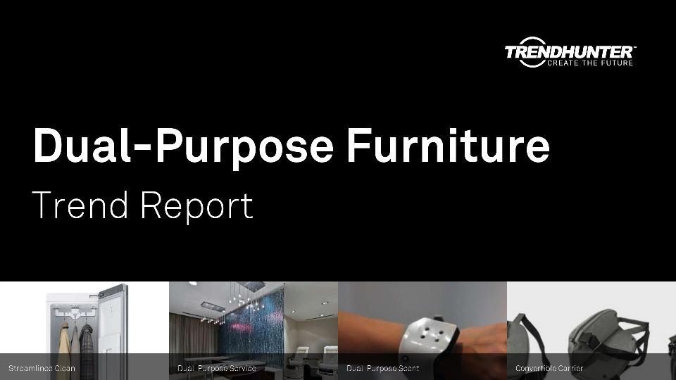 Dual-Purpose Furniture Trend Report Research