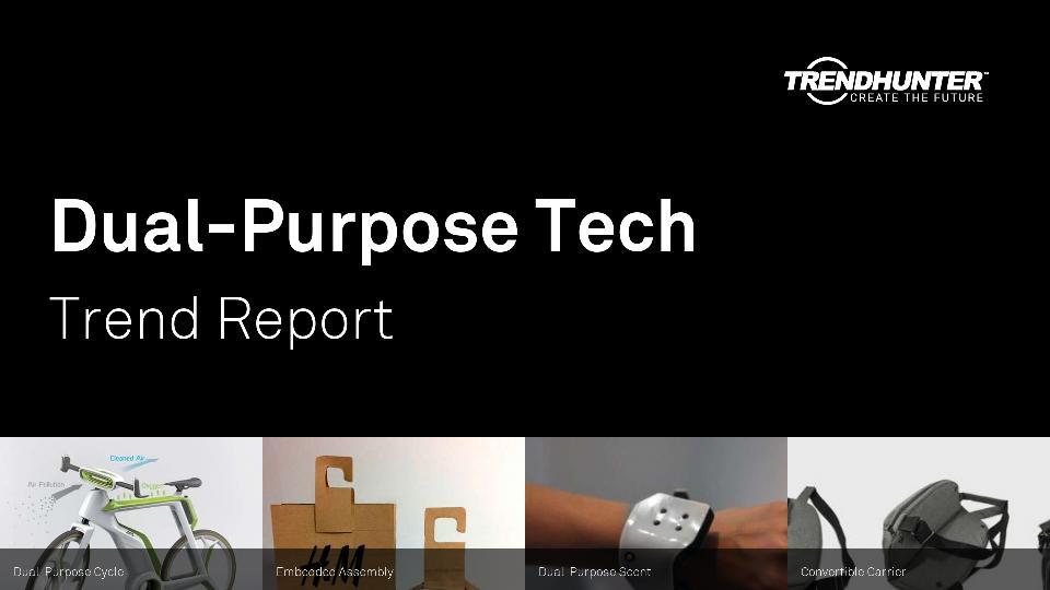 Dual-Purpose Tech Trend Report Research