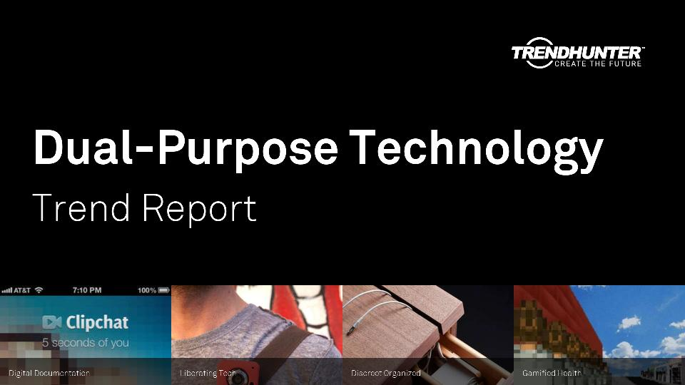Dual-Purpose Technology Trend Report Research