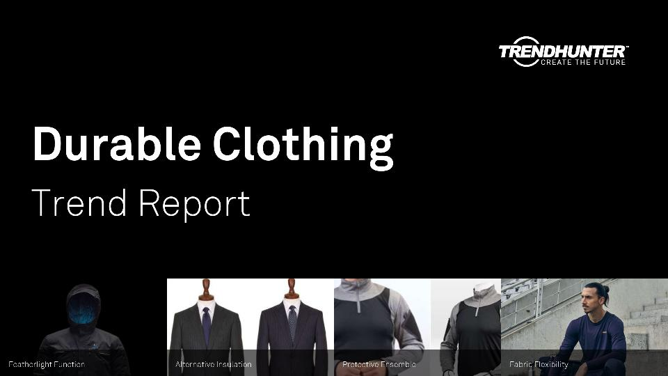 Durable Clothing Trend Report Research