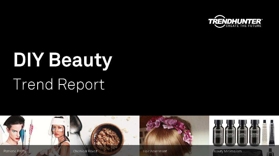 DIY Beauty Trend Report Research