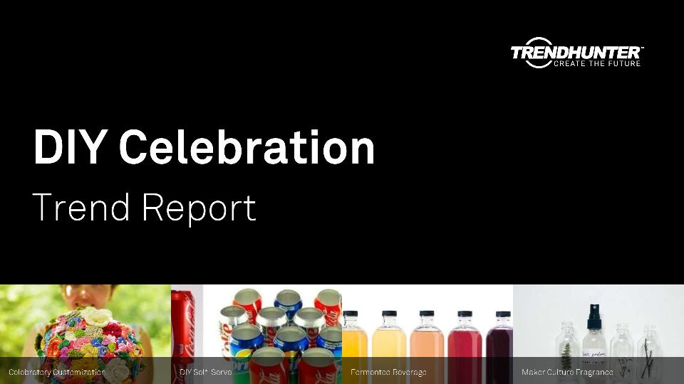 DIY Celebration Trend Report Research