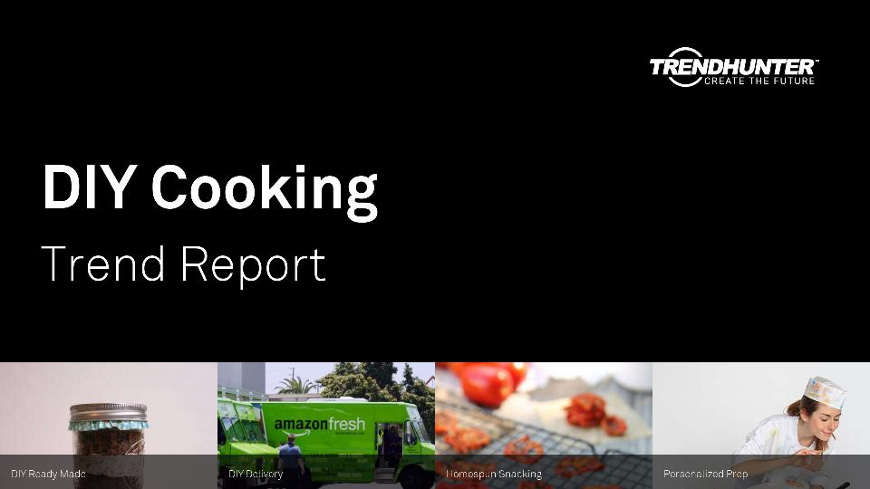 DIY Cooking Trend Report Research