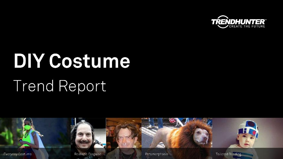 DIY Costume Trend Report Research