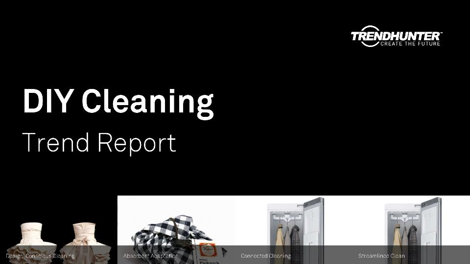DIY Cleaning Trend Report Research