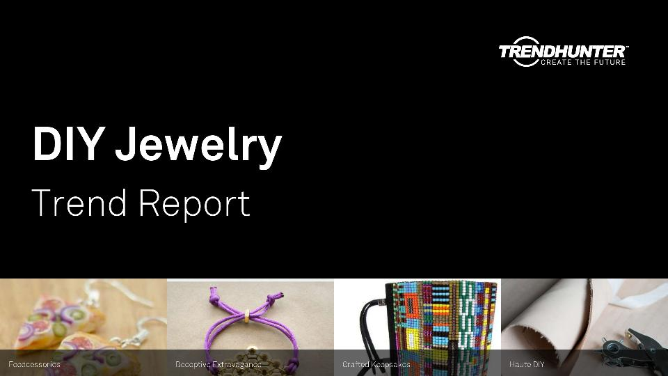 DIY Jewelry Trend Report Research