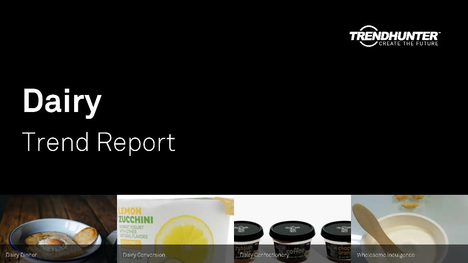 Dairy Trend Report Research