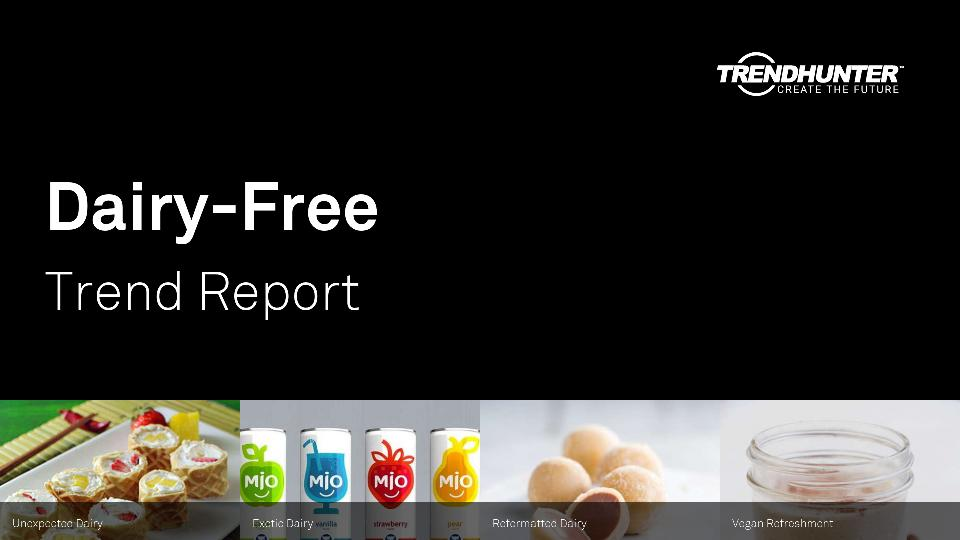 Dairy-Free Trend Report Research