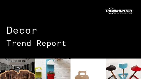Decor Trend Report and Decor Market Research